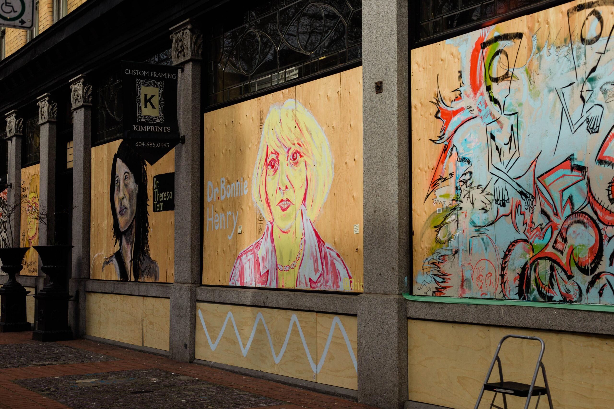 Gastown murals (Jackie Dives)